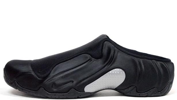 Nike Solo Slide Black/Metallic Silver