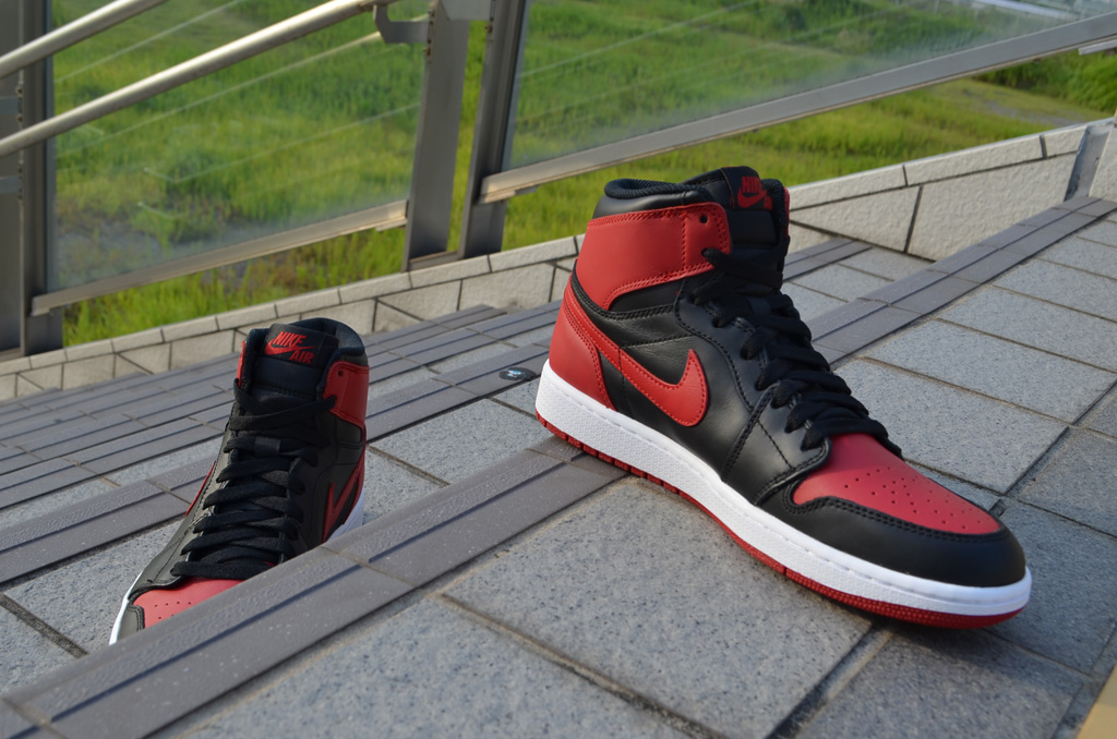 5757d5721fa Air Jordan 1 Retro High OG - Black/Red | Sole Collector