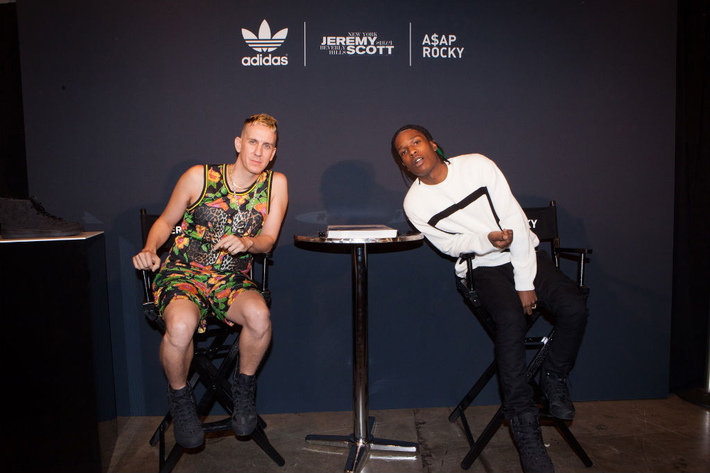 A$AP Rocky x Jeremy Scott adidas Wings 2.0 Reveal Event Photos (7)