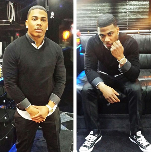 Nelly wearing Converse Chuck Taylor All Star
