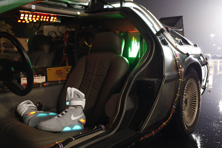 "Nike ""Back for the Future"" Set, Cast & Crew"