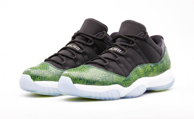 Air Jordan XI 11 Low Green Snake Restock