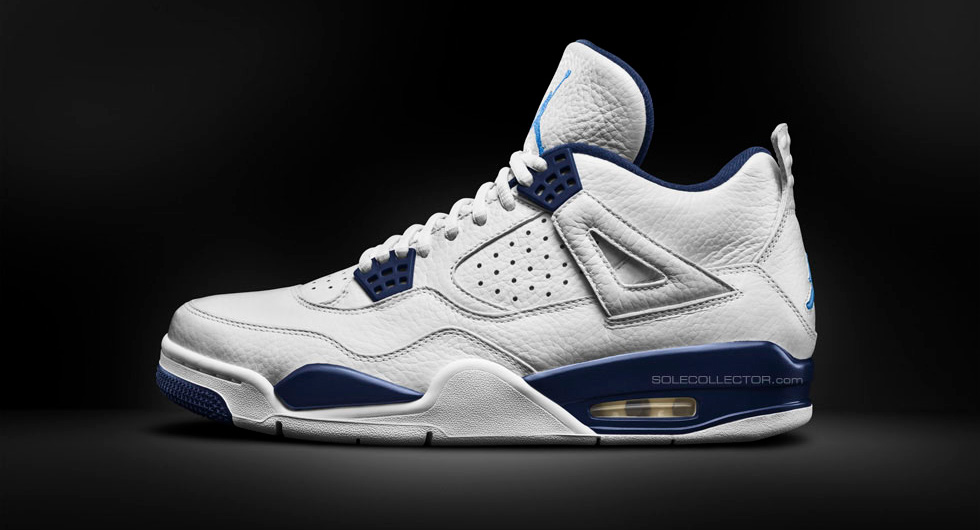 Air Jordan IV 4 Columbia Remastered