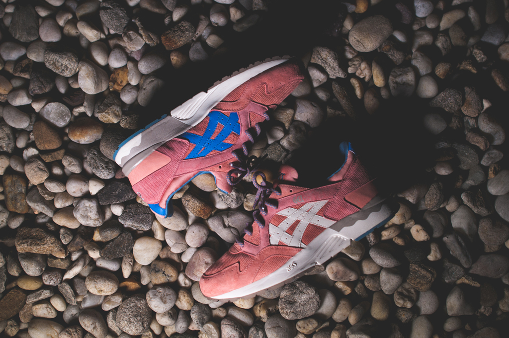 ronnie fieg x asicsgel lyte v rose gold