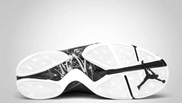 3f4598114d4 Air Jordan 8.0 - Black/Dark Charcoal-White - Official Images | Sole ...