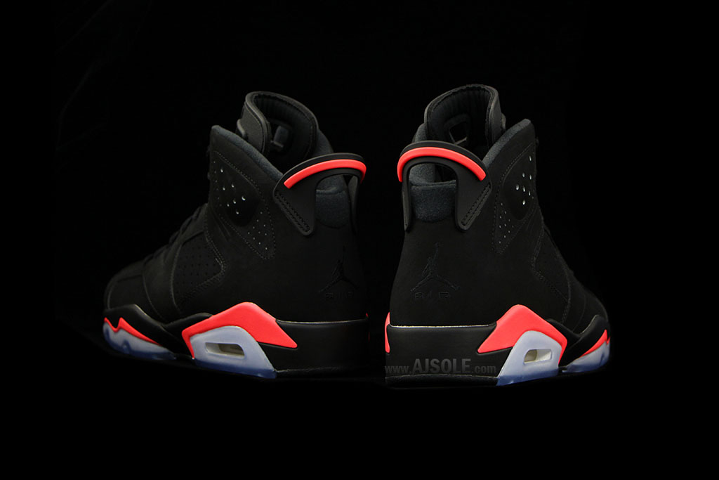 Air Jordan VI 6 Black Infrared Release Date 384664-023 (4)