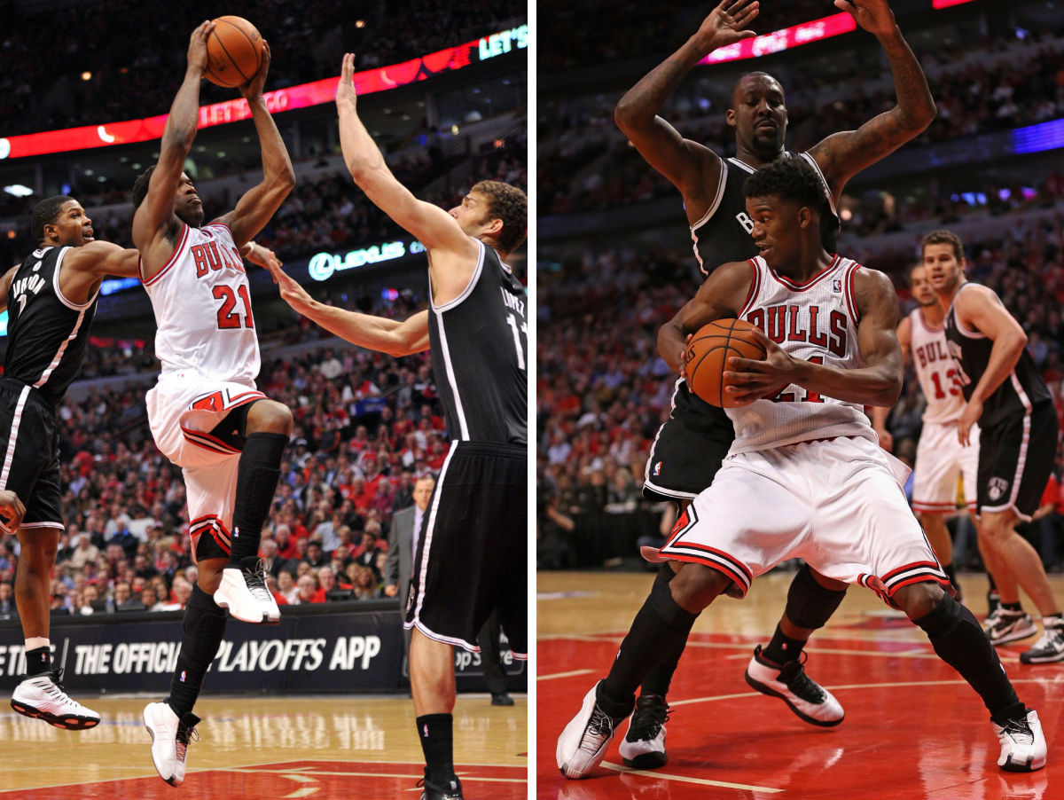 Jimmy Butler wearing adidas The Kobe (4)