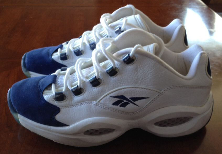 Reebok Question Low White/Navy