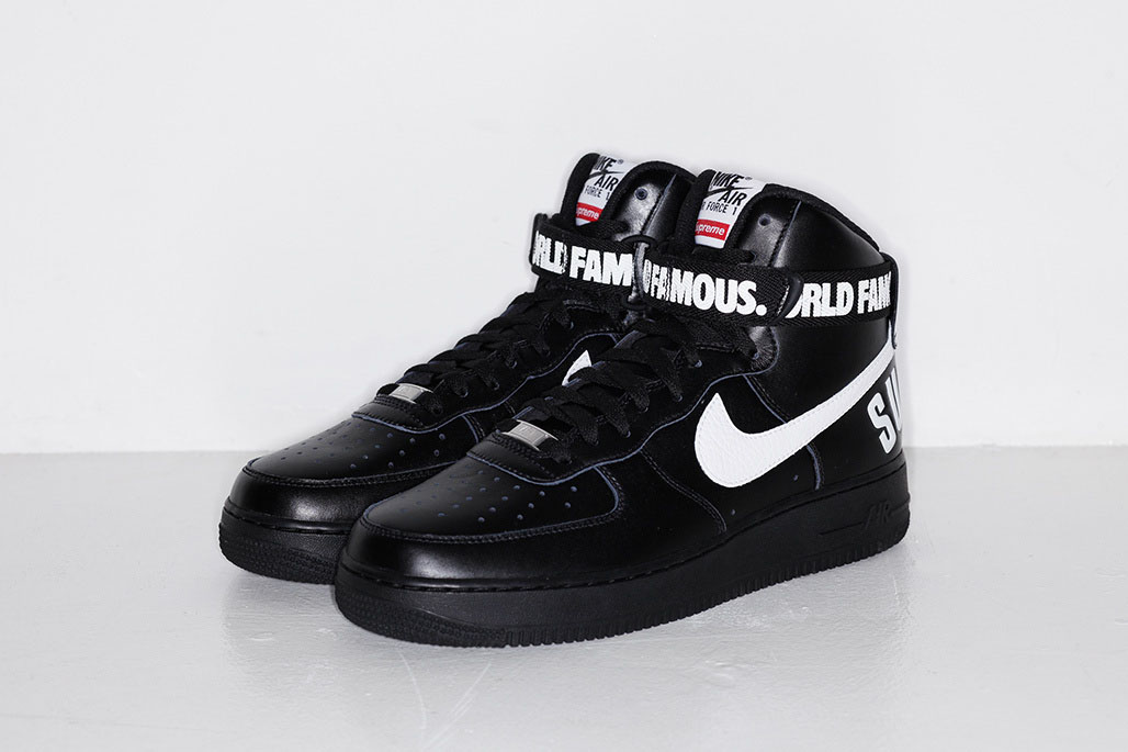 timeless design 76987 2d041 5)Supreme x Nike Air Force 1 High Release Date (5)