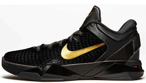 Nike Zoom Kobe 7 System Elite Black/Metallic Gold