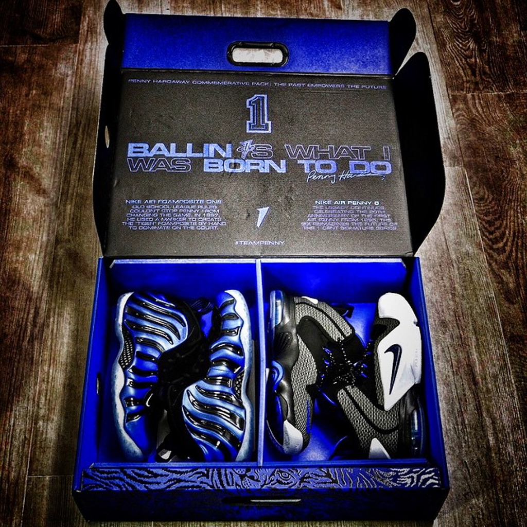 4671da48adc6b ... Nike Packages the  Sharpie  Foamposite One With the  Orlando  Penny 6