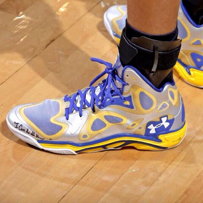 Stephen Curry Under Armour Anatomix Spawn PE // Close-Up