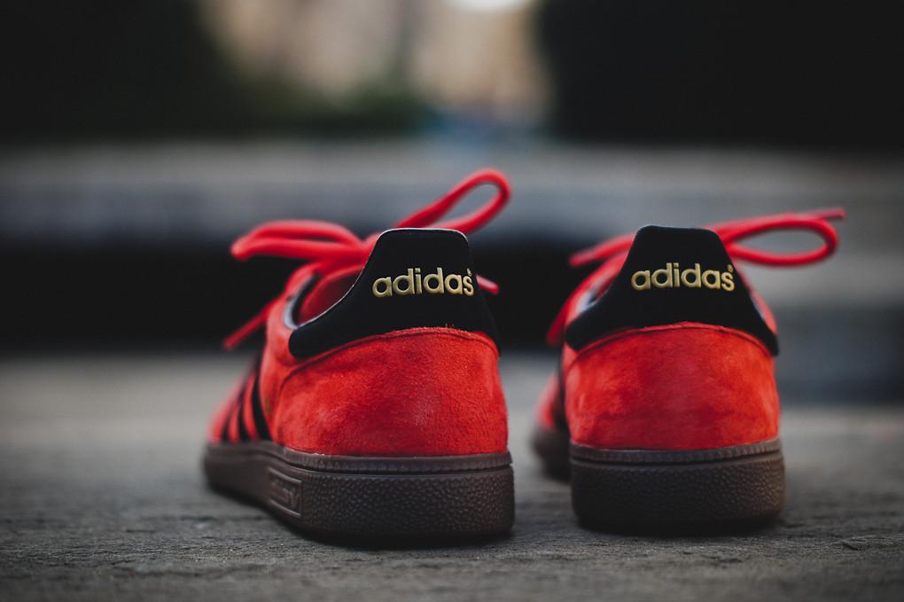 adidas Spezial - Vivid Red/Black   Sole