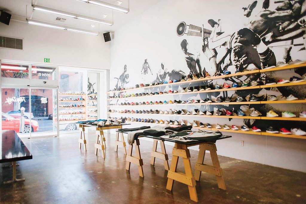 Footwear News Lists the 10 Best Sneaker Shops // Burn Rubber, Royal Oak, Michigan