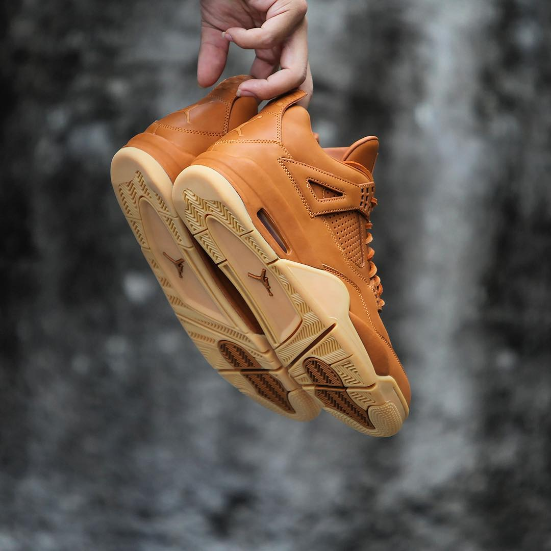 0fe8b50c532b Air Jordan 4 Wheat 819139-205 Angle 7