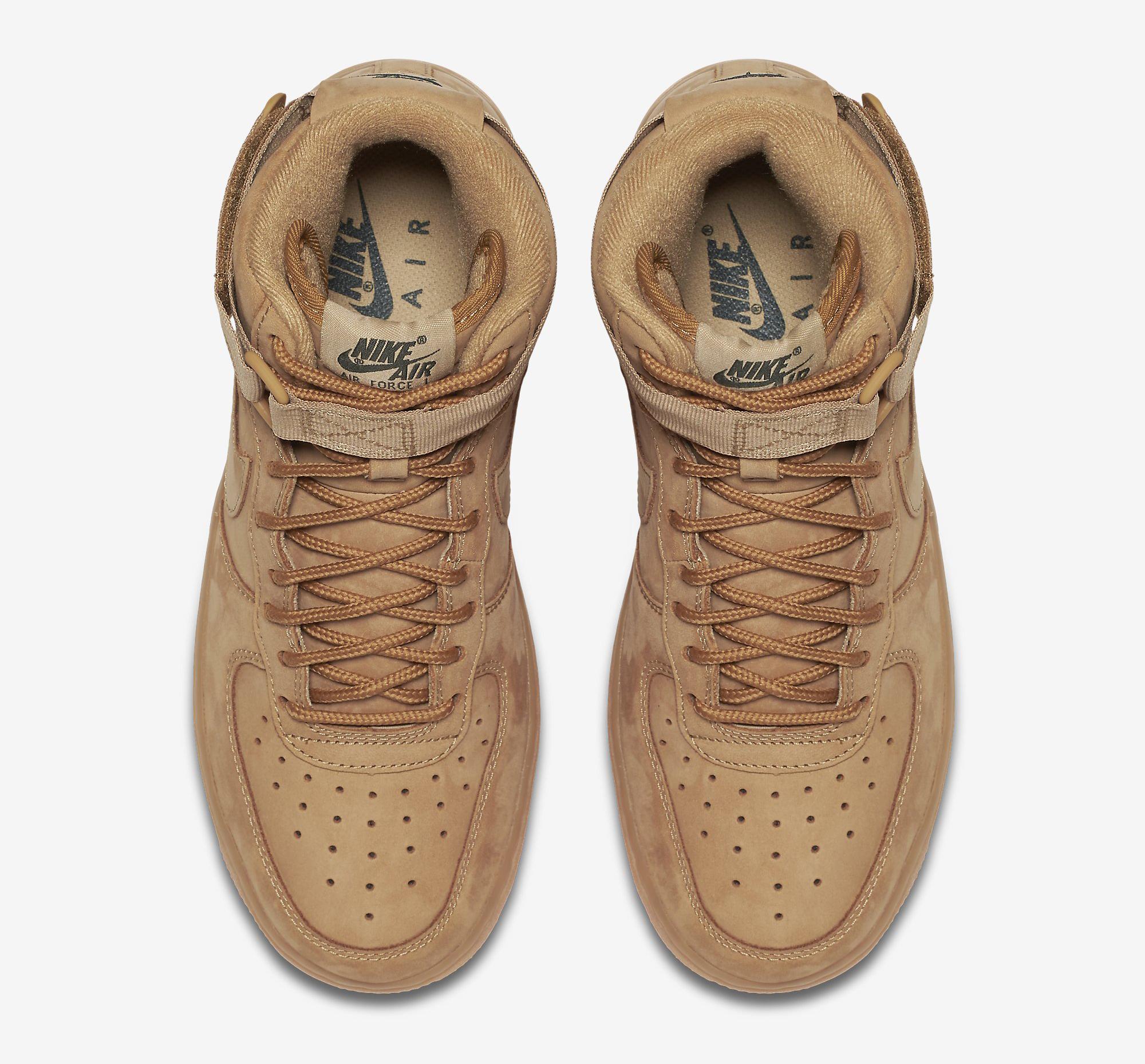 Wheat Nike Air Force 1 654440-200 Top