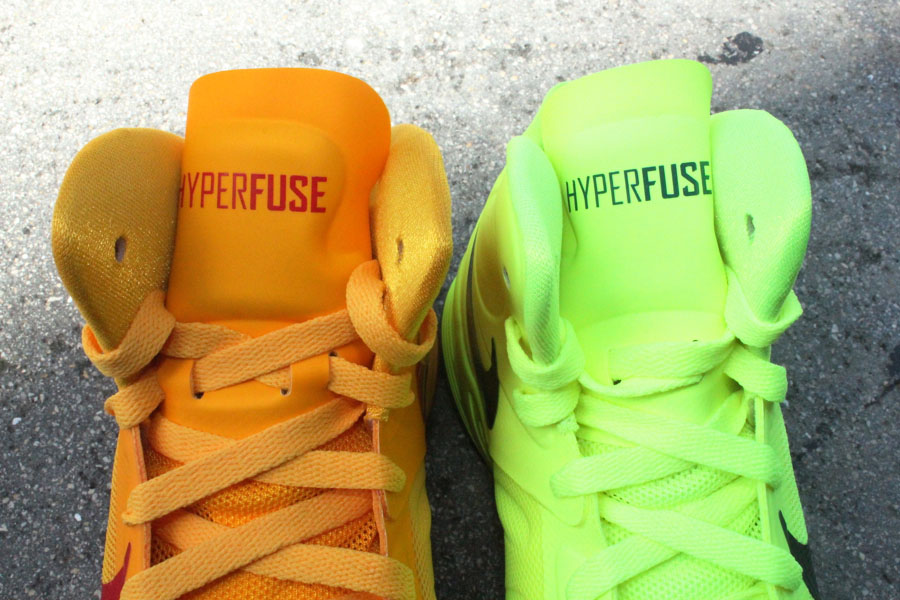 Hot Cheap Nike Zoom Hyperfuse 2012 Cheap sale Orange Red