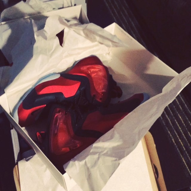 Soulja Boy Picks Up Nike Lil' Penny Posite University Red