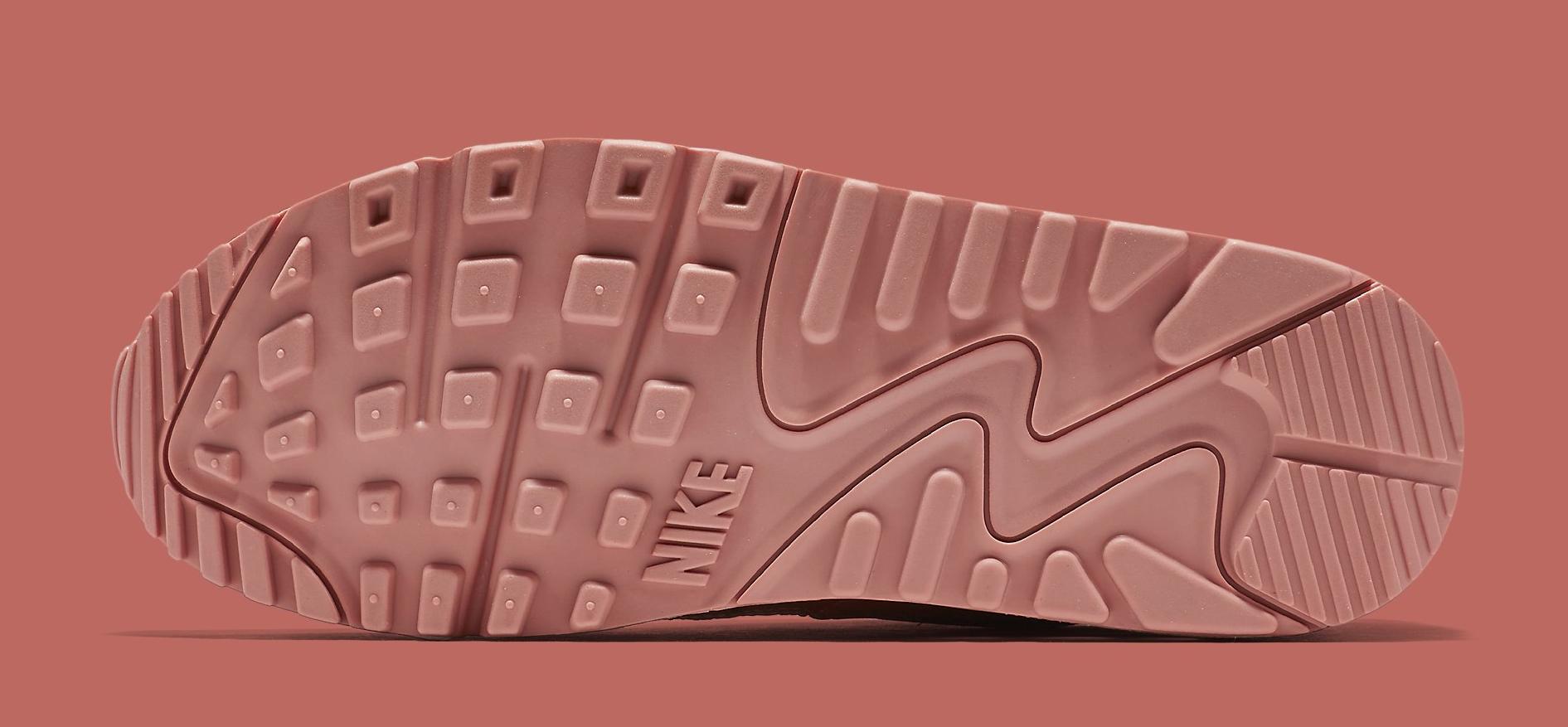 241e76a2c80c Image via Nike Nike Air Max 90 Pinnacle Pink 839612-601 Sole