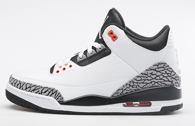 Air Jordan 3 Retro Infrared 23 Profile