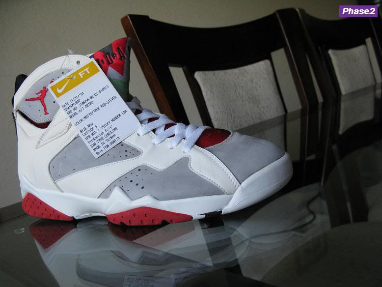 online store 61f9b 6a60d Air Jordan 7 Grey Hare Sample (2001)