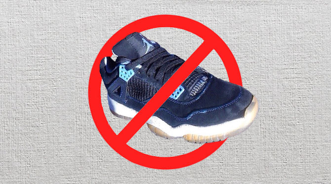c1db454a12c Getting burned on a pair of fakes is no laughing matter. As unauthorized  sneakers get better and better, it's become even more important to make  sure you ...