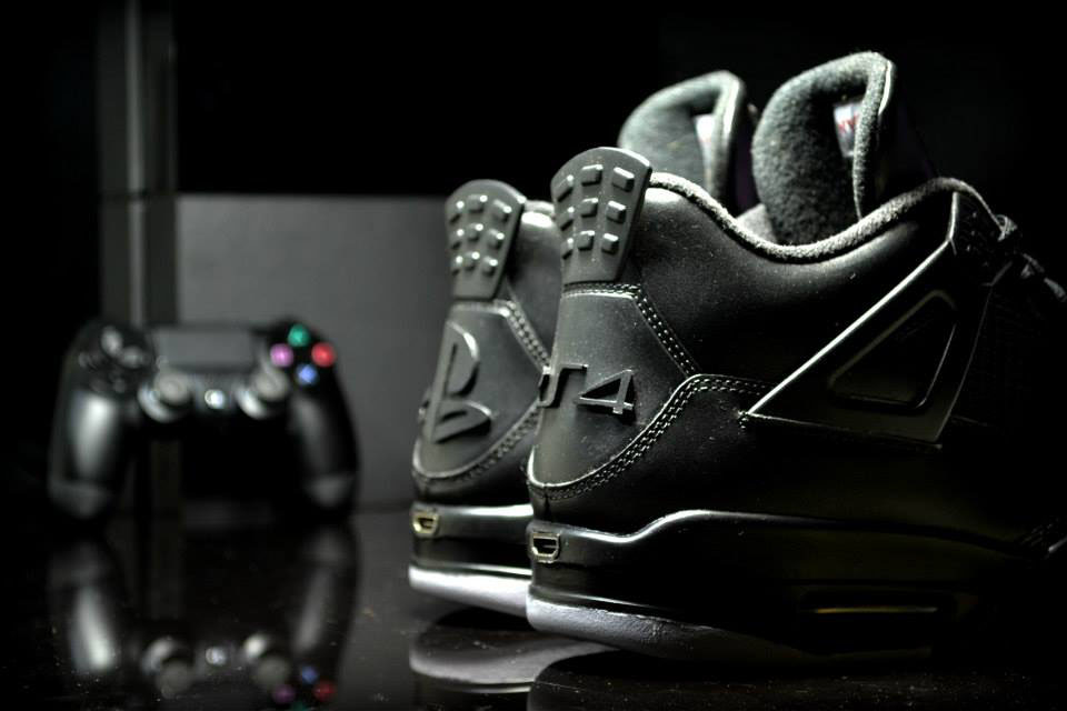 Air Jordan IV 4 Playstation by FreakerSNEAKS