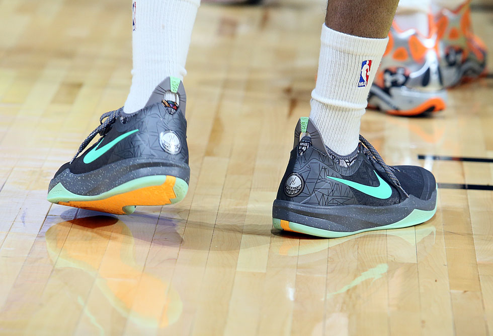 James Harden wearing Nike Zoom Crusader All-Star PE