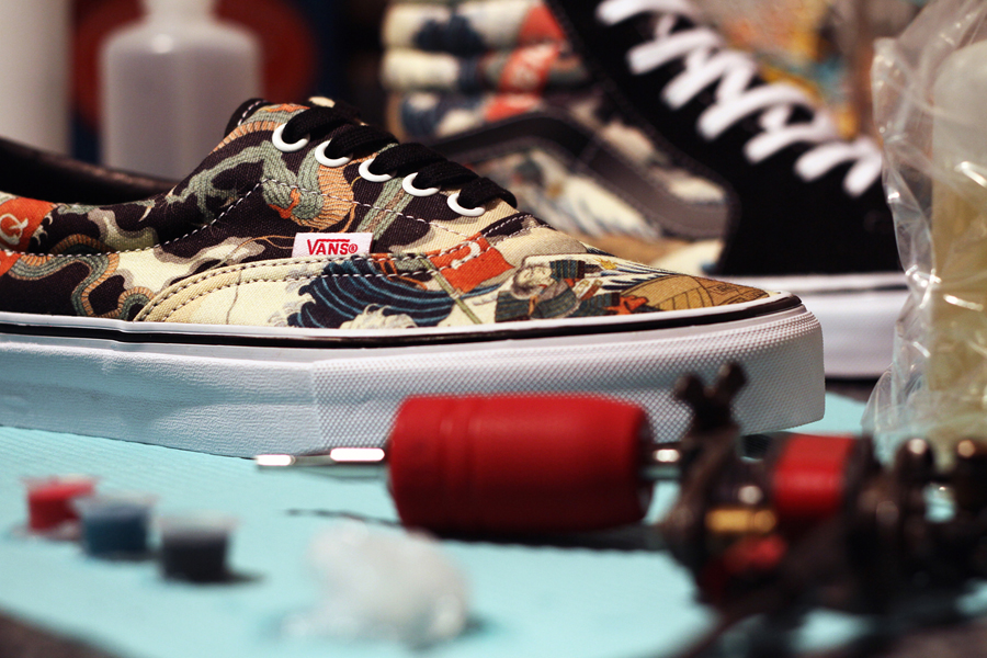 UBIQ x Vans Vault Three Tides Tattoo details