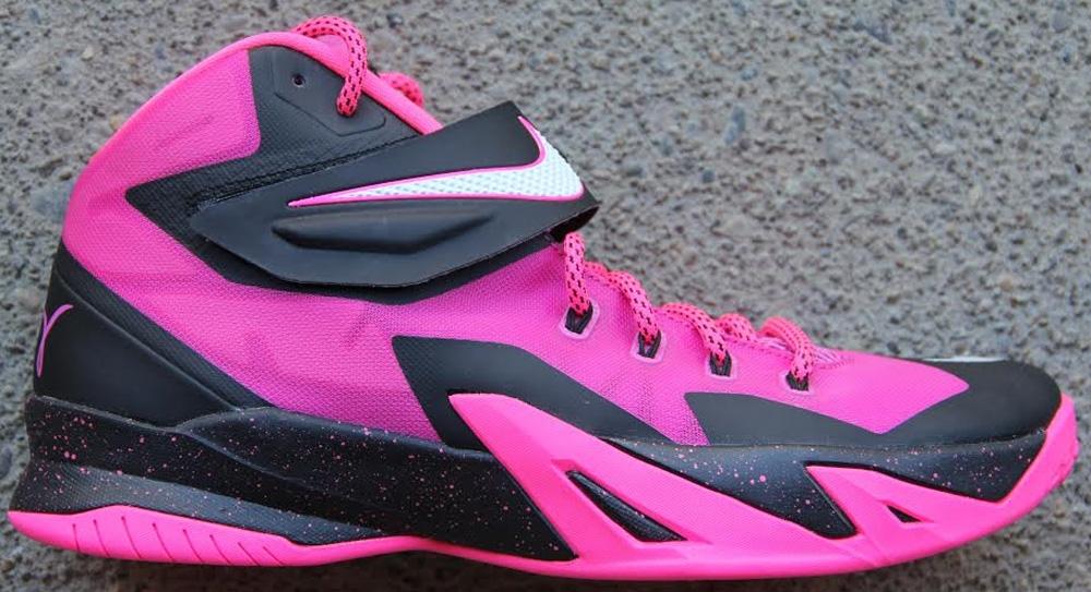 Nike Zoom Soldier VIII Pinkfire II/Black-Hyper Pink-White