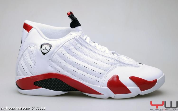 Air Jordan 14 XIV Retro White Varsity Red Black 487471-101 5