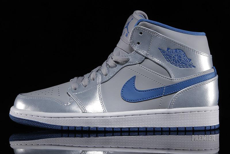 air jordan 1 blue and grey