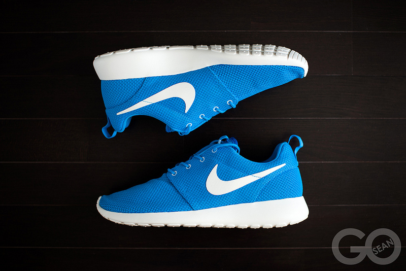 ceb06ea7c0aed Nike Roshe Run - Blue Hero   Sail