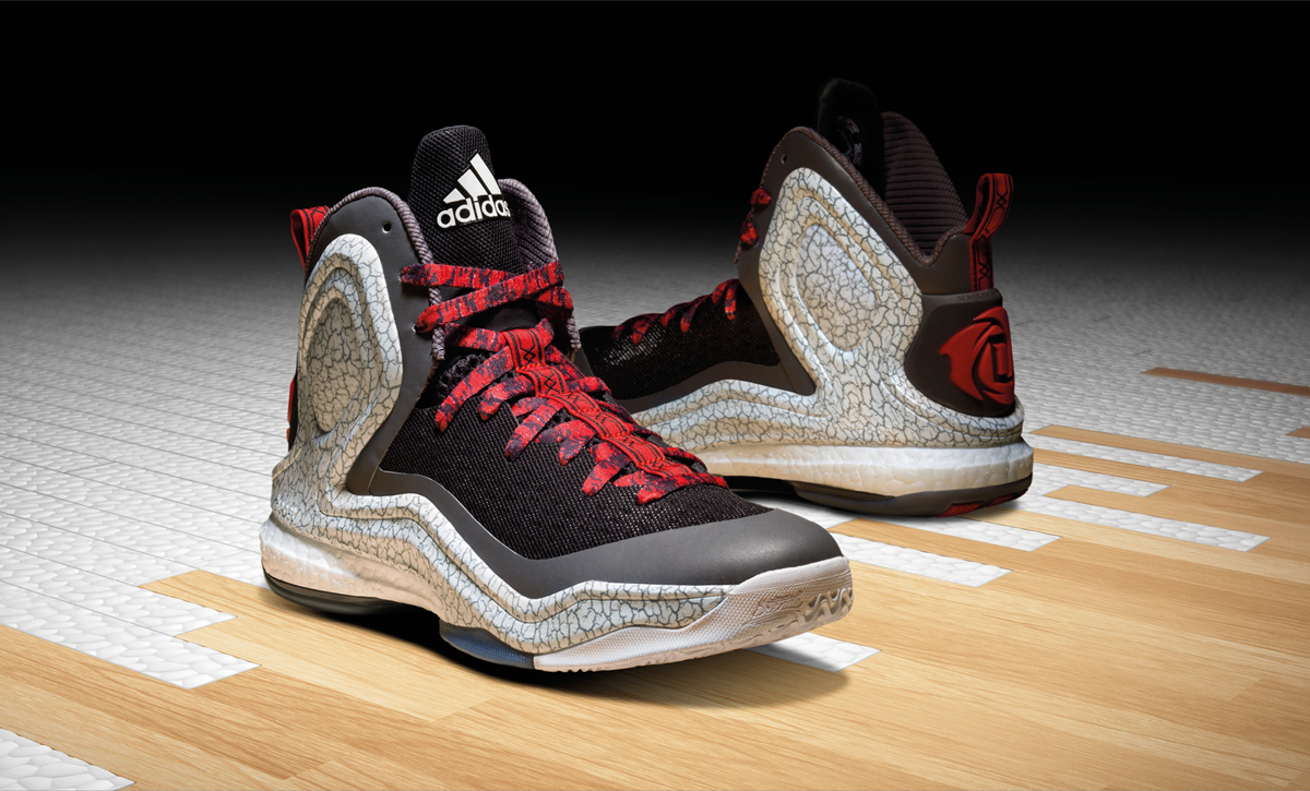 ... adidas D Rose 5 Boost. Derrick Rose gets outfitted with