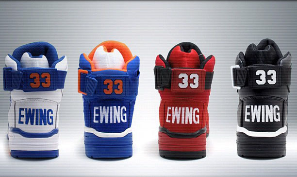 Ewing Athletics 33 Hi Retro