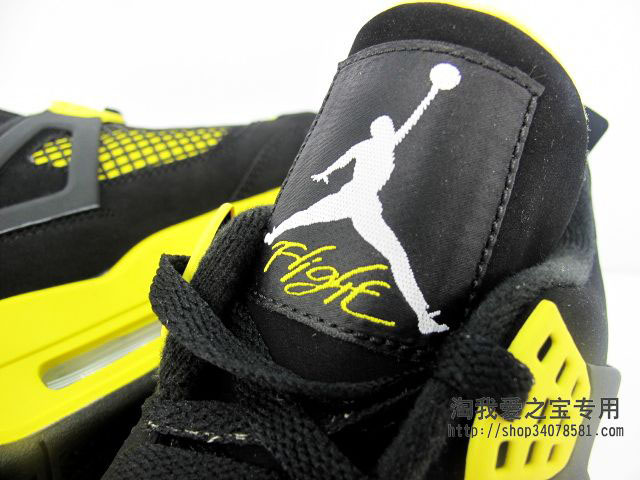 Air Jordan IV 4 Thunder 308497-008 (8)