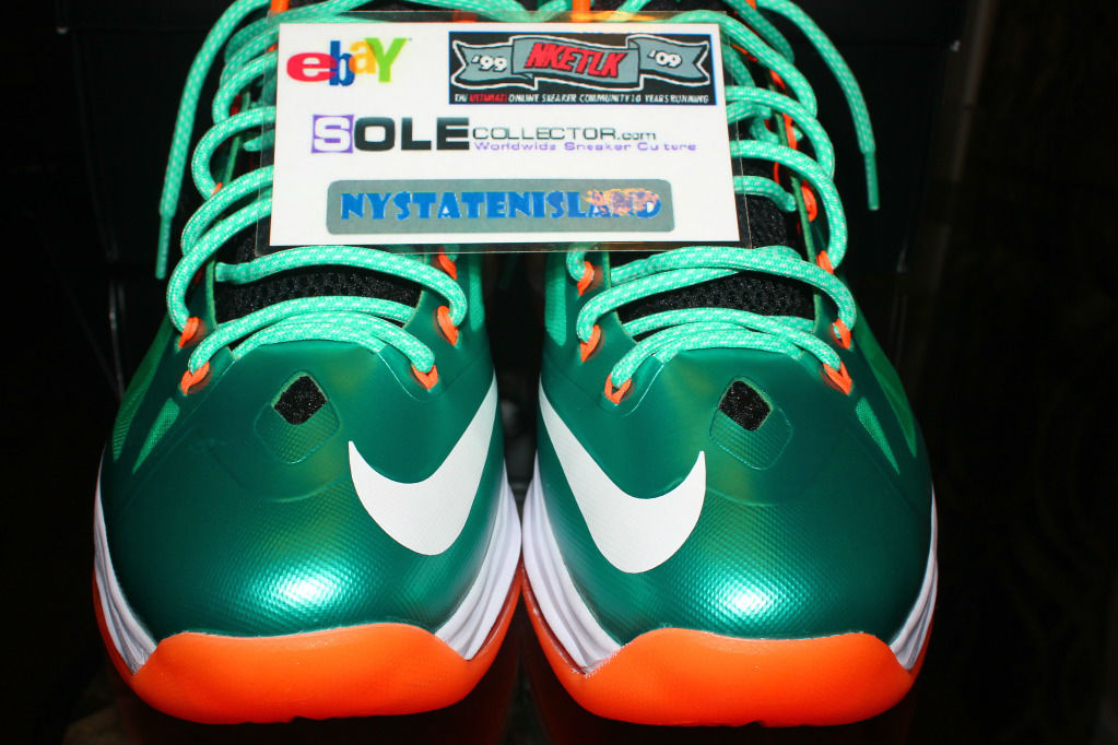 cheap for discount aab14 22588 Nike Lebron X iD Miami Dolphins by nystatenisland (7)