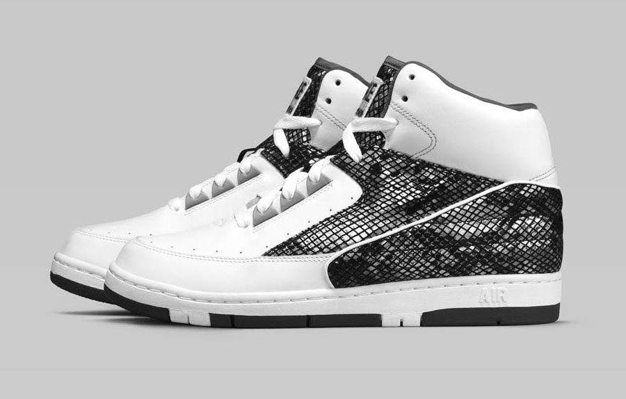 Nike Air Python Retro White Silver (3)