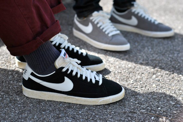 online retailer 16573 d1bd6 Nike Blazer Low VNTG - Three Colorways   Sole Collector