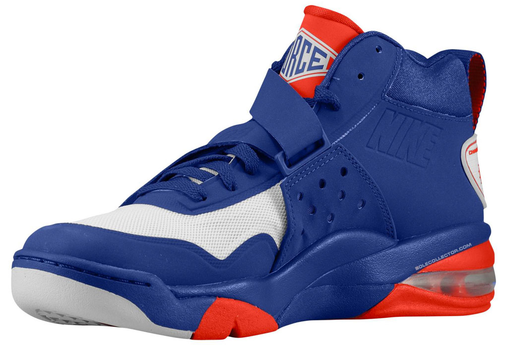 Nike Air Force Max Royal/White CB 2 Hyperfuse Deep Royal/White Max Chilling Red a8d399