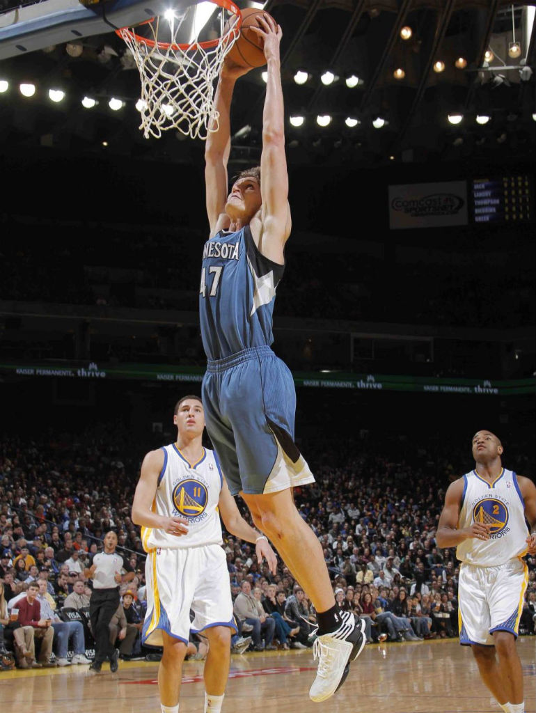 Andrei Kirilenko wearing adidas adizero Crazy Light 2