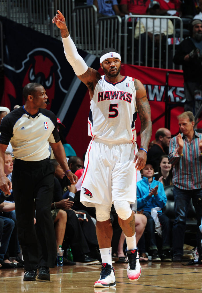 Josh Smith wearing adidas Crazy Fast Home PE