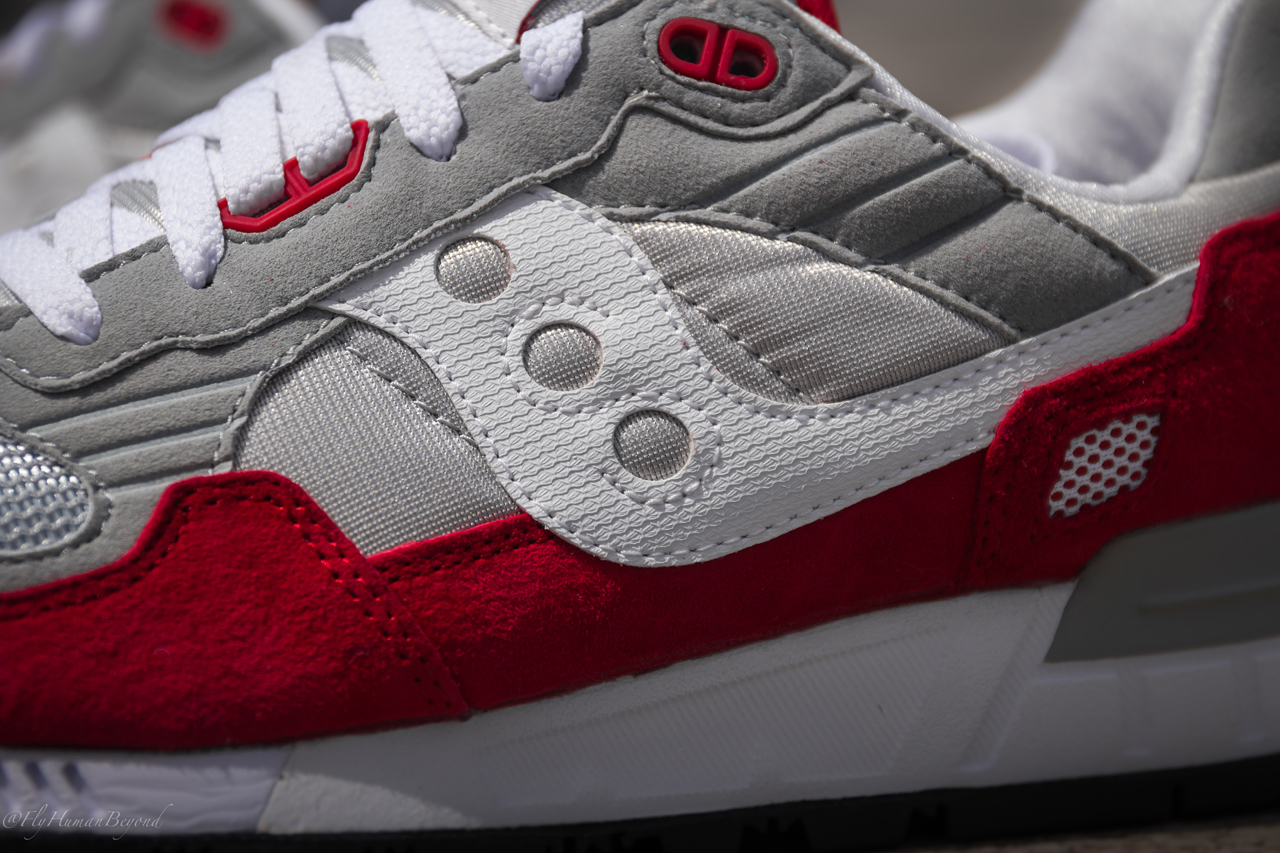 finest selection 33560 c7f1c Saucony Shadow 5000 Red byde-a-whyle.co.uk