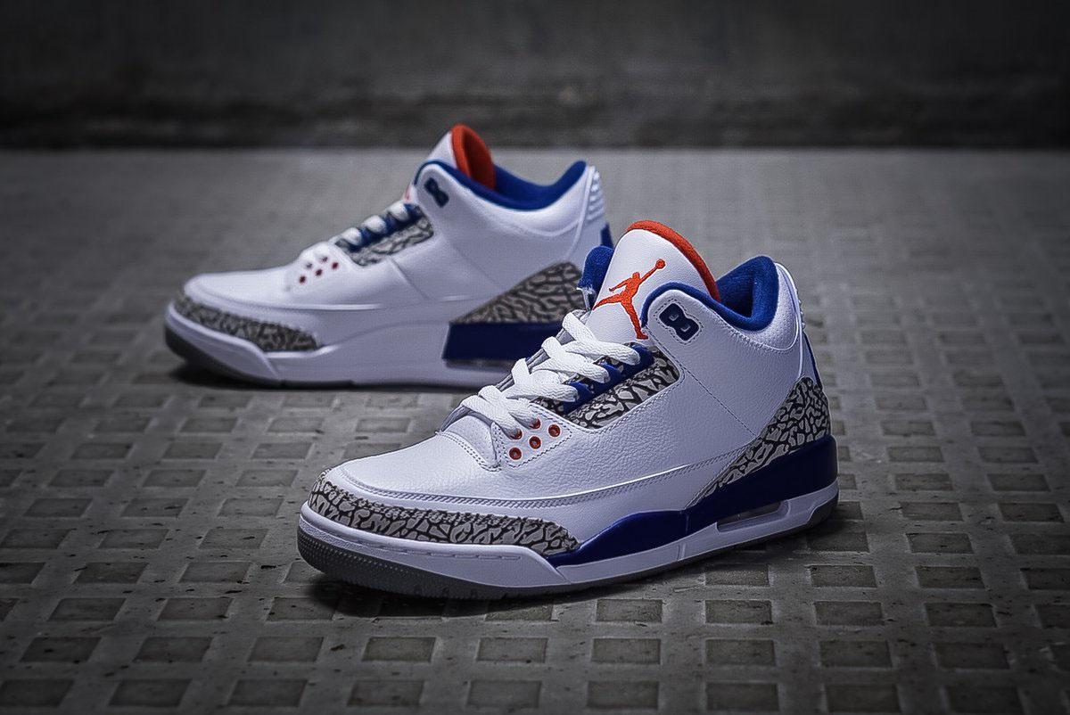 Jordan 3 True Blue 2017