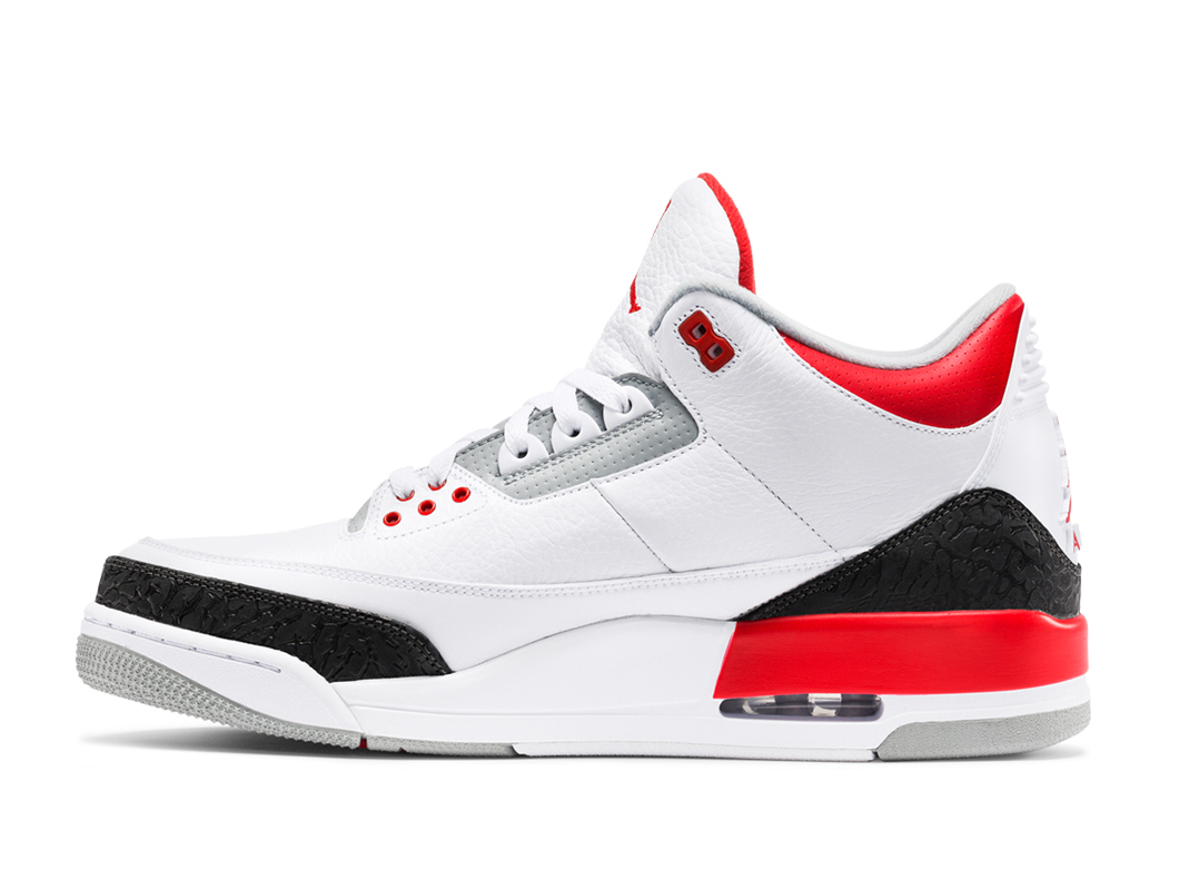 air jordan 3 retro fire red official images sole. Black Bedroom Furniture Sets. Home Design Ideas