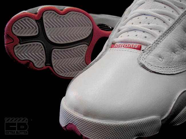 37bda0d0336 Air Jordan Retro 13 GS - White Spark-Stealth - New Images