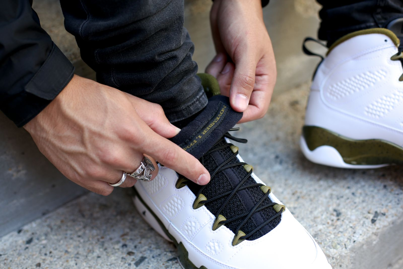 ea783c2e5adc See How the  Statue  Air Jordan 9s Look On-Feet