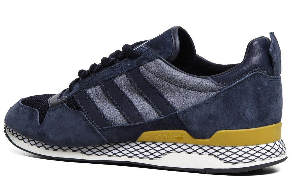 brand new 26906 2181d The Kazuki Kuraishi x adidas Originals 84-Lab ZXZ ADV in Dark Navy   Craft  Gold releases tomorrow at select adi retailers, including online at End.