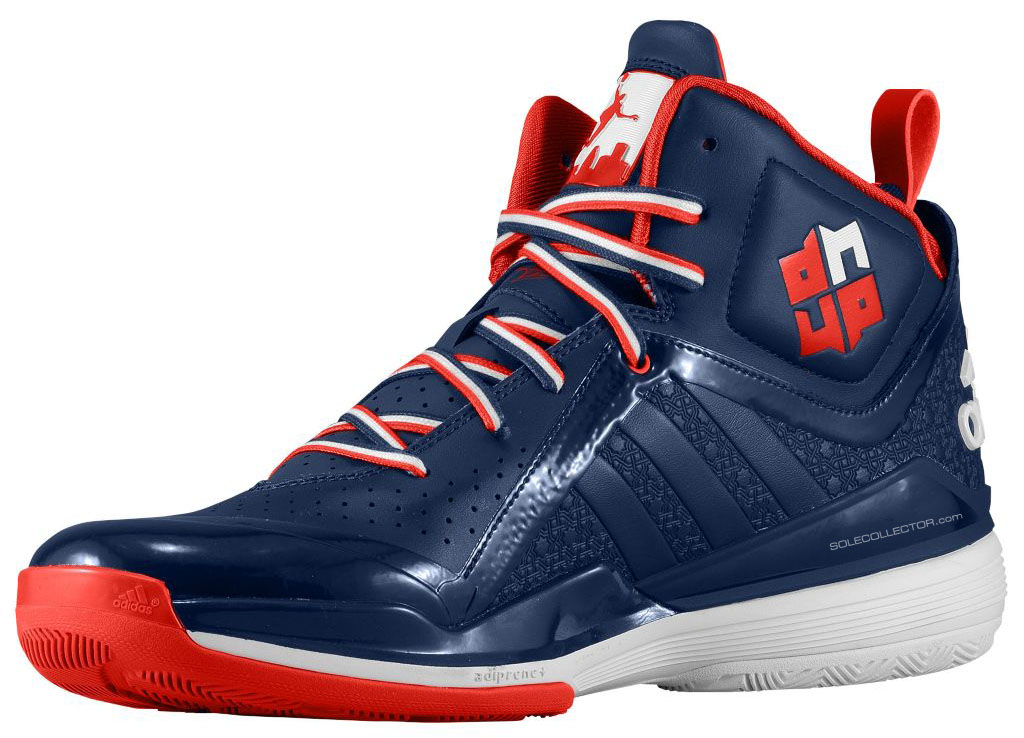 adidas D Howard 5 Navy/Red/White (2)