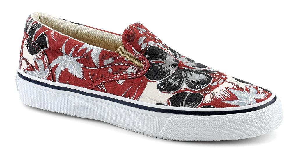 Sperry Top-Sider Hawaiian Print Striper Slip On Pack (3)